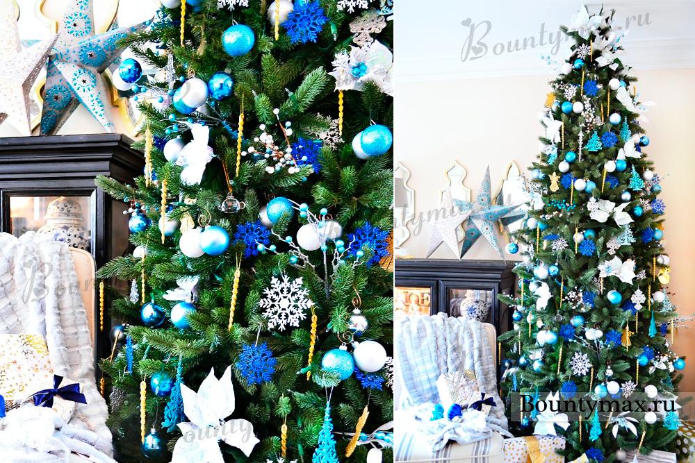 Как украсить новогоднюю елку своими руками с фото
