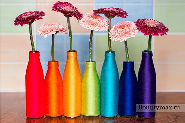 Сделать своими руками из шаров вазу