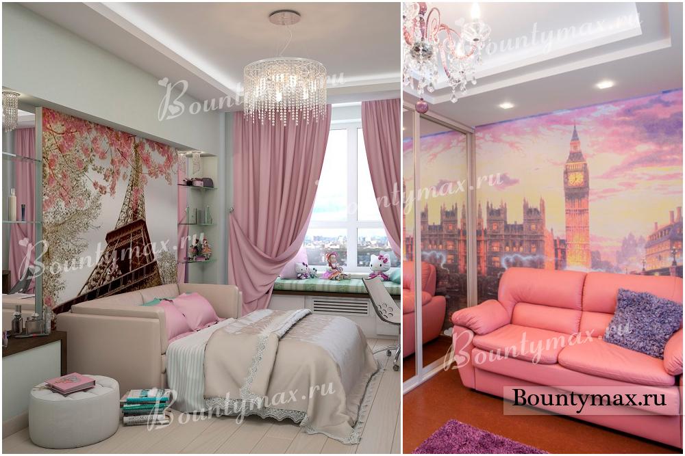 фото дизайн комнаты подростка-девочки