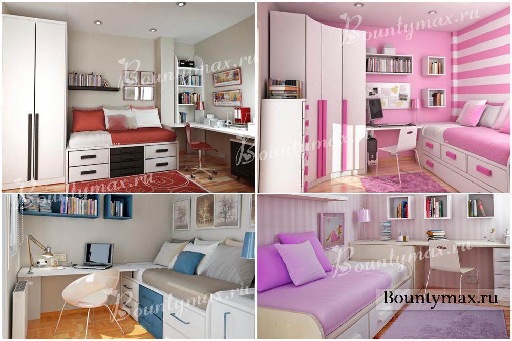 фото мебель для девочки подростка