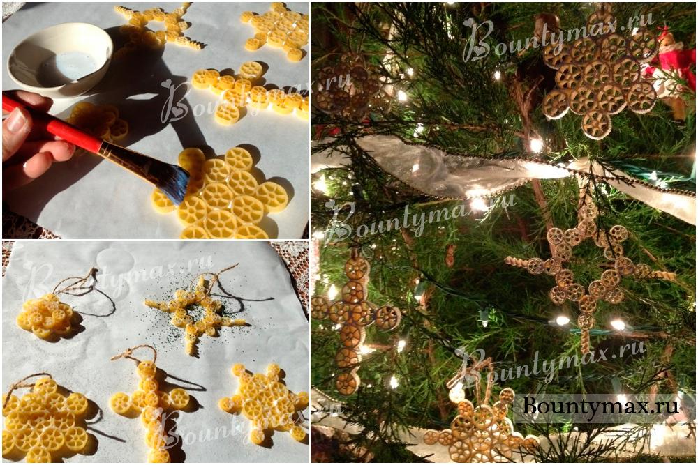 Украшения новогодняя елка своими руками