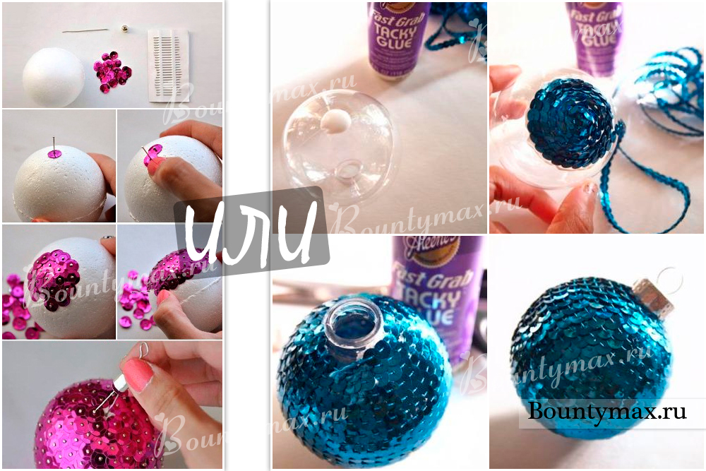 Елочные шары своими руками мастер класс 42