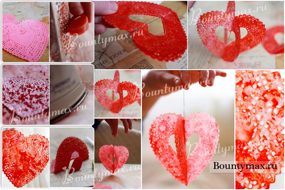 Оригинальные сердца своими руками 2
