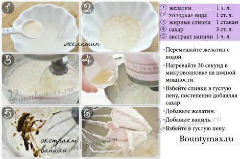 Как правильно взбить сливки в домашних условиях