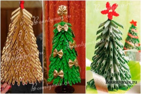 Новогодние украшения своими руками: поделки из макарон