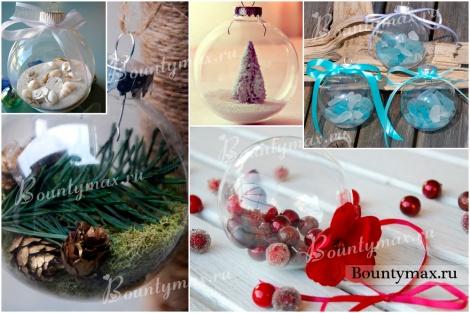Мастер класс как сделать новогодние шары своими руками: роспись, декупаж, украшение новогодних шаров