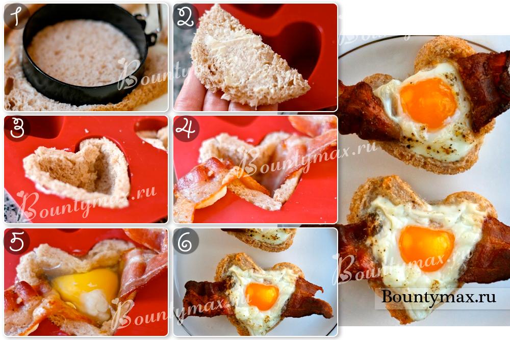 Красивые завтраки для любимого рецепты