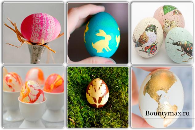 Как красиво покрасить яйца на Пасху в 2019 году: своими руками в домашних условиях