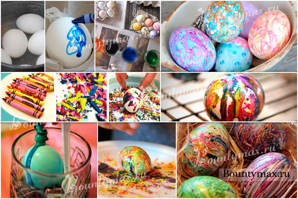 Как сделать красиво яйца