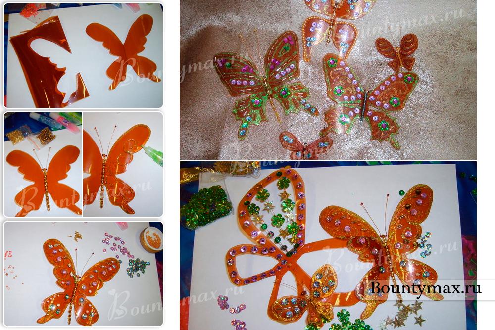 Бабочки своими руками другу 560