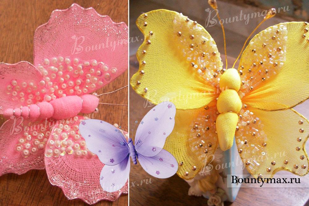 Бабочки своими руками девушкам 980