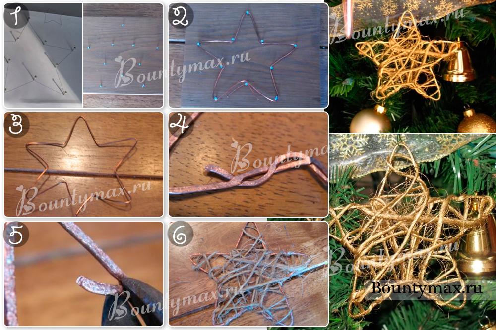 Как сделать новогоднюю своими руками из подручных материалов