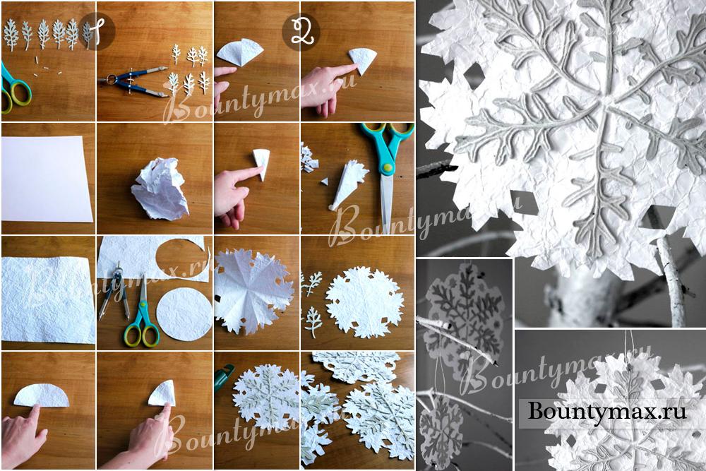 Новогодние игрушки из картона своими руками фото 272