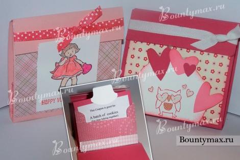 Оригинальный подарок на день святого Валентина своими руками