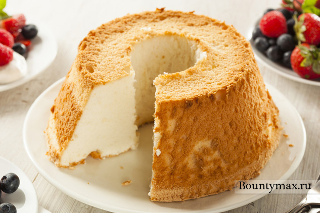 пища ангела торт рецепт с фото