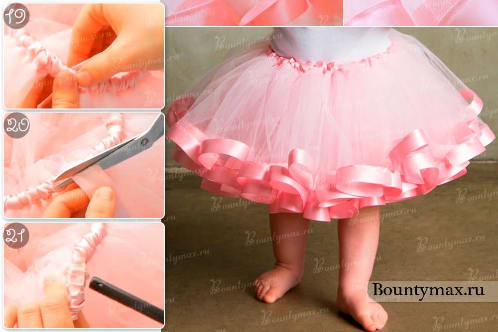 Фатиновая юбка своими руками фото 160