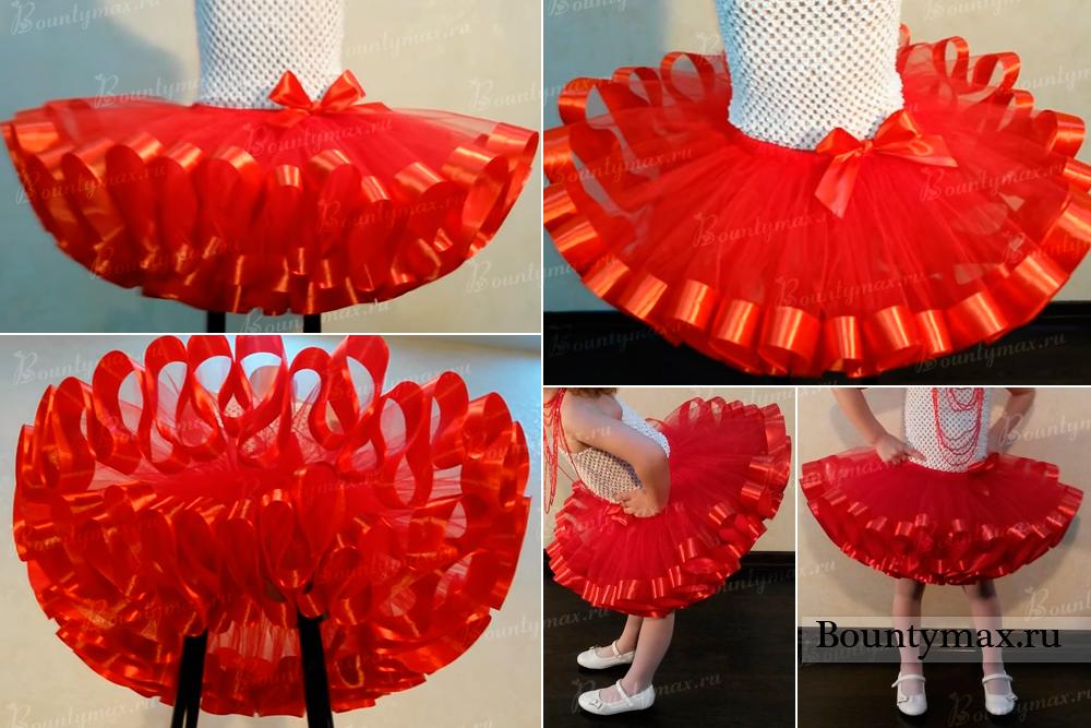 Как сшить юбки из фатина фото 81