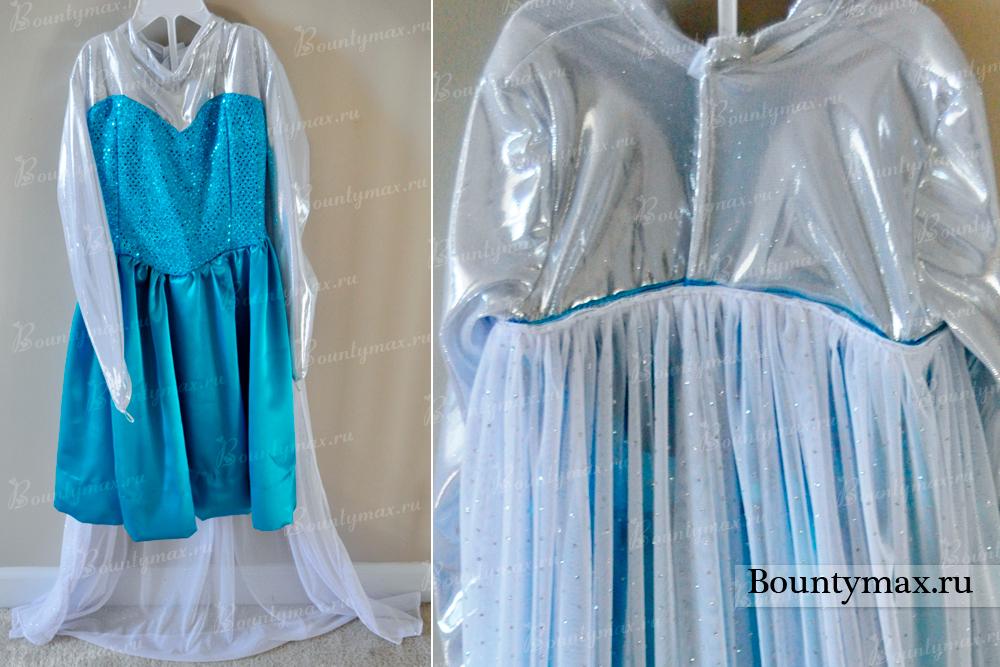 Платье холодное сердце сшить