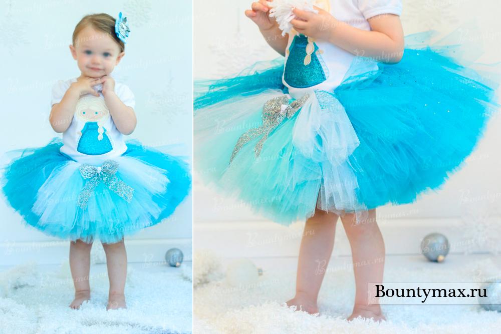 Как сшить самой детское платье из фатина 44
