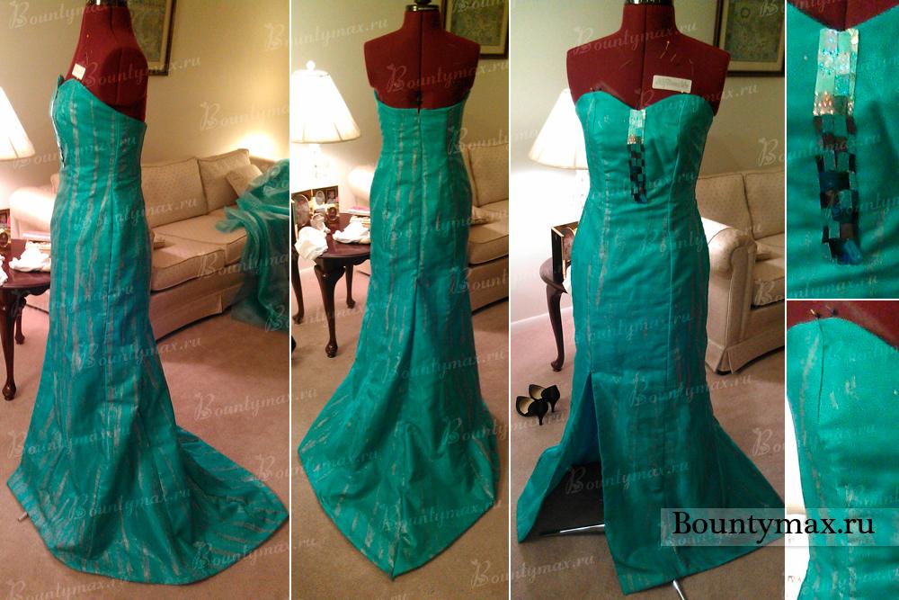 Как сшить платье из сердец