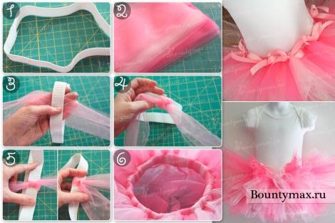 Мастер класс: как сделать юбку туту из фатина своими руками