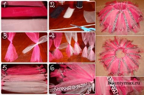 Сшить юбку из фатина своими руками мастер класс разные модели 10