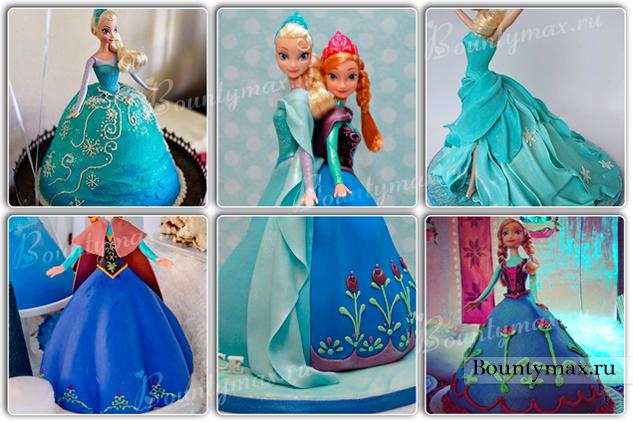 Сделать своими руками торт с куклой