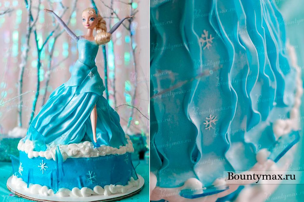 Торт с эльзой своими руками 314