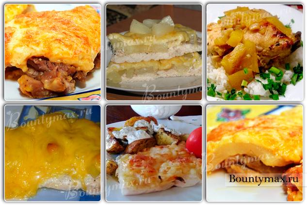 Вкусные блюда с сыром в духовке