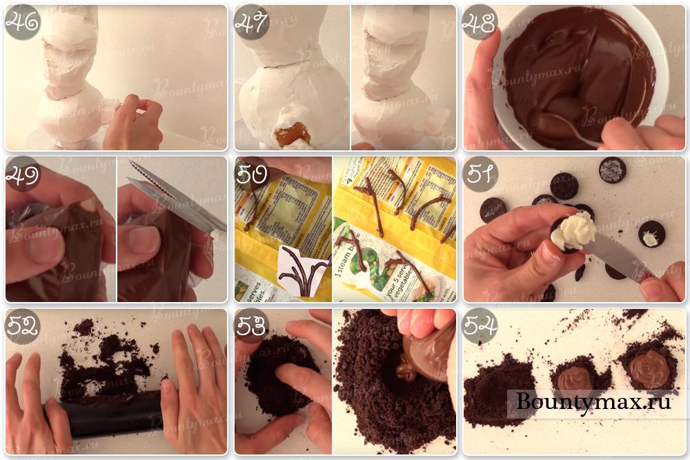 Как сделать из мастики конфетки