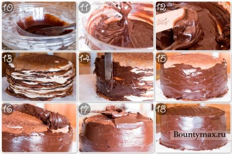 Ганаш для украшения торта