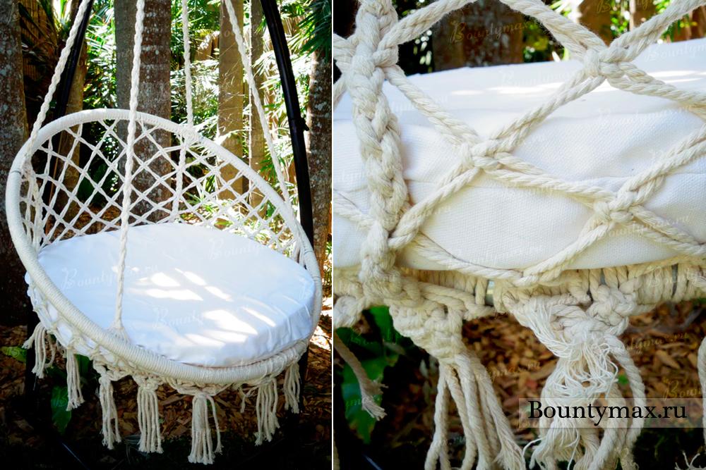Гамак из обруча своими руками плетение 97