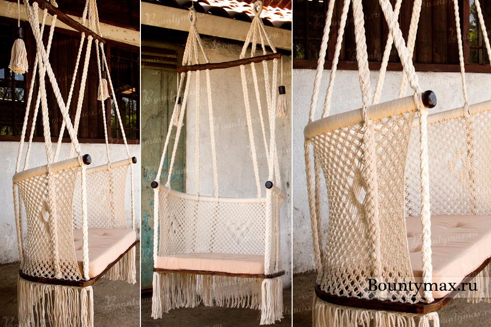Гамак кресло из обруча своими руками 60
