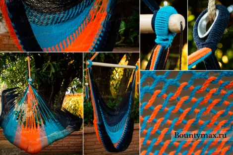 Кресло гамак макраме своими руками мастер класс