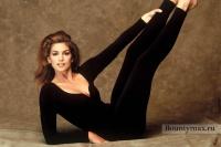 Секрет идеальной фигуры от Синди Кроуфорд: видео упражнения онлайн