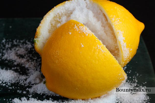 Лимонный скраб для тела