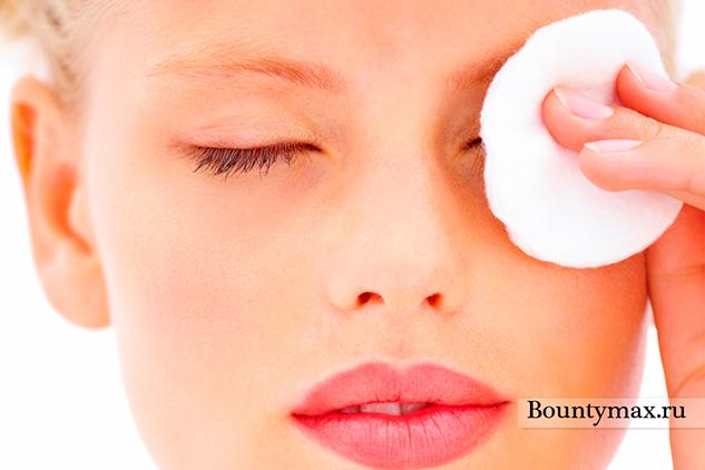Домашнее средство для снятия макияжа