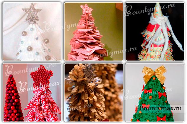 Как сделать елку из бумаги своими руками на новый год