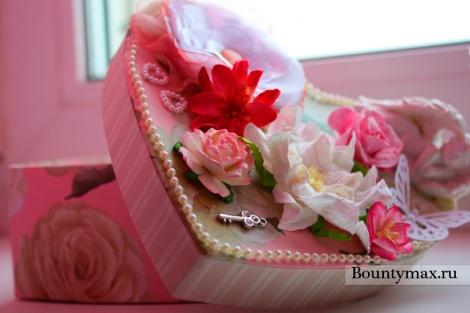 Красивая коробка своими руками на день святого Валентина