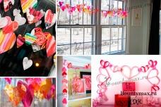Как украсить комнату на день святого Валентина