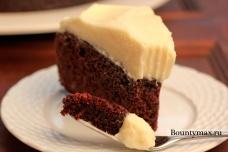 Шоколадный торт на пиве с сырным кремом