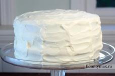 Красный торт на день рожденья