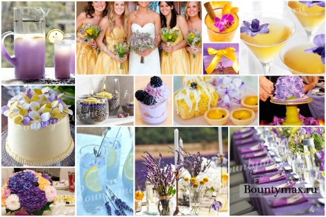 Свадьба в желтом цвете - возможности комбинирования