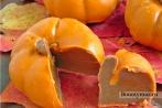 Шоколадные конфеты на хэллоуин в виде тыквы