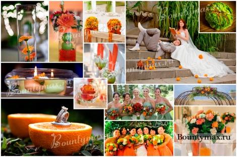 Зеленая свадьба - возможности комбинирования