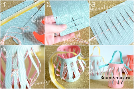 Как сделать новогодние игрушки на елку из бумаги своими руками
