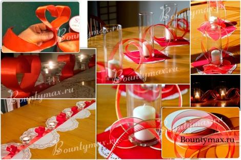 Как устроить романтический вечер: сервировка стола на день святого Валентина