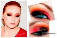 Красивый макияж на день святого Валентина