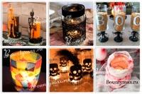 Как сделать оригинальные подсвечники на хэллоуин: лучшие идеи