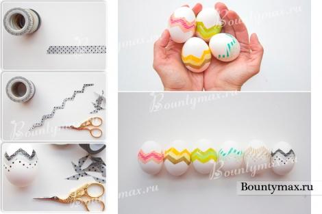 Яйца на пасху: как красиво покрасить яйца на пасху